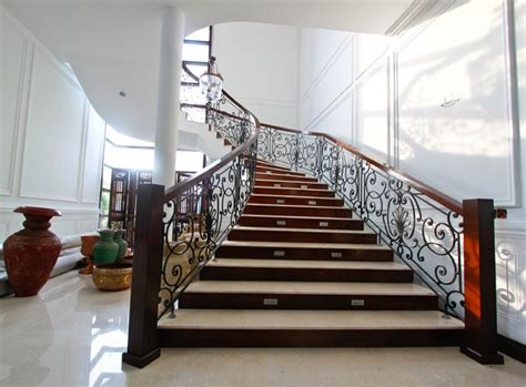 10 standout stair railings and why they work interior designs that revive the wrought iron railings