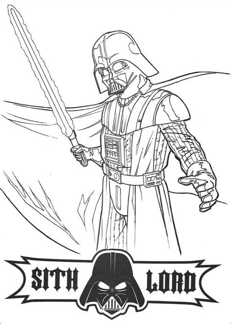 kids under 7 star wars coloring pages