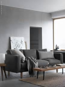 living room with grey sofa shades of grey ikea norsborg sofa decordots bloglovin