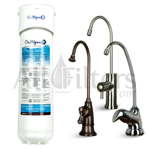 Culligan Faucet Water Filter by Culligan Us Ez 4 Undersink Water Filter With Faucet