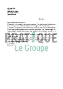 Modèles De Lettre Félicitations Naissance Sle Cover Letter Exemple De Lettre Pour Un Mariage