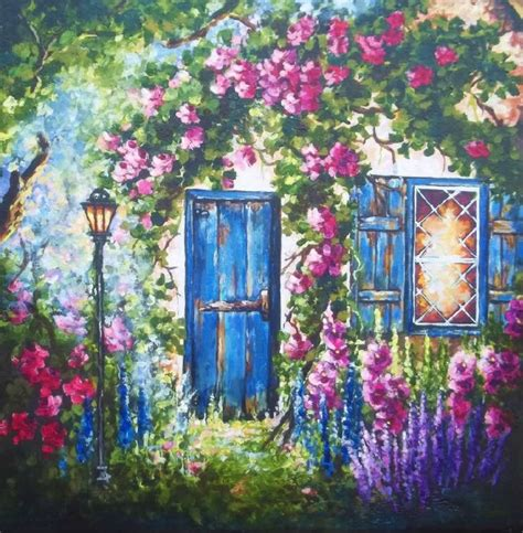 cottage garden paintings 60 best a painted cottage images on painted