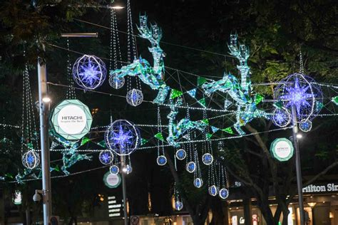 new year 2016 singapore light up orchard road festive light up on a great