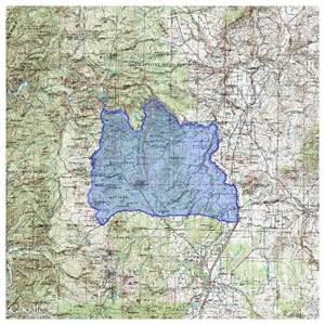 Oregon Hunting Maps by Oregon Hunting Map Hunting Access Map