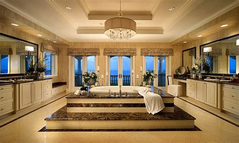 luxurious bathtub over the top inspirational bathroom designs