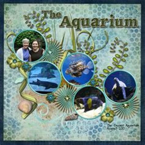 scrapbook layout aquarium aquarium scrapbook com scrapbooking pinterest