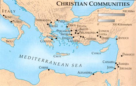 early christianity in lycaonia and adjacent areas from 02map2 htm