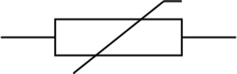 thermistor resistor symbol thermistor symbol