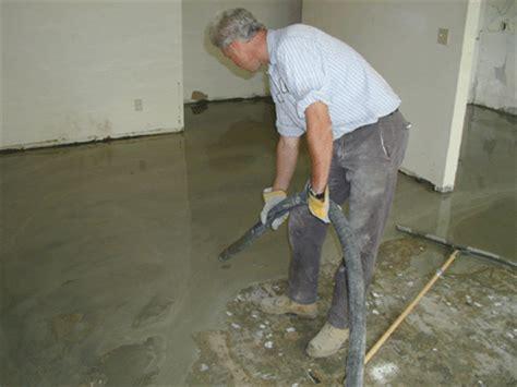 self leveling flooring