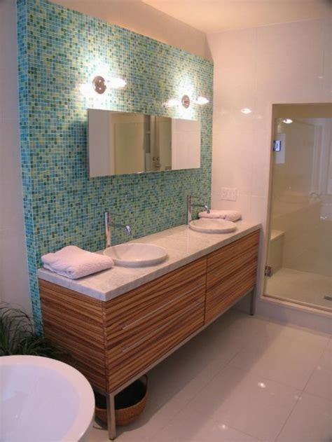 35 Trendy Mid Century Modern Bathrooms To Get Inspired Mid Century Modern Bathroom Tile