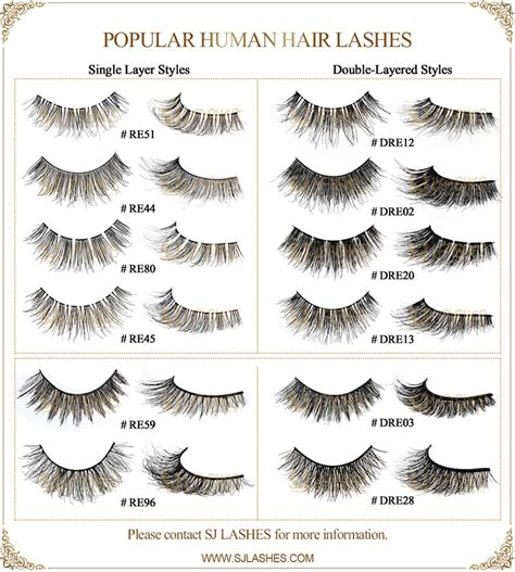 faux mink double layered silk lashes synthetic fake