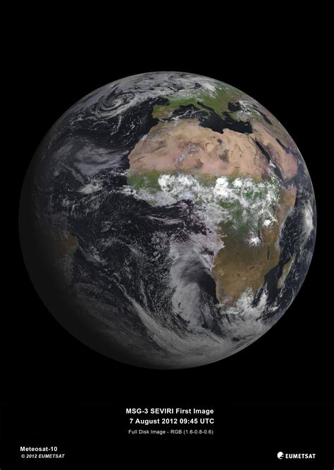earth s imo msg 3 delivers the best images of earth space