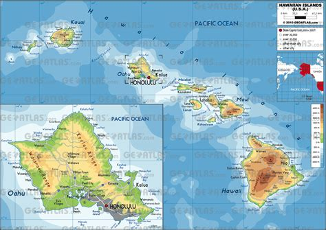 map of hi map of hawaii large color map fotolip rich image and