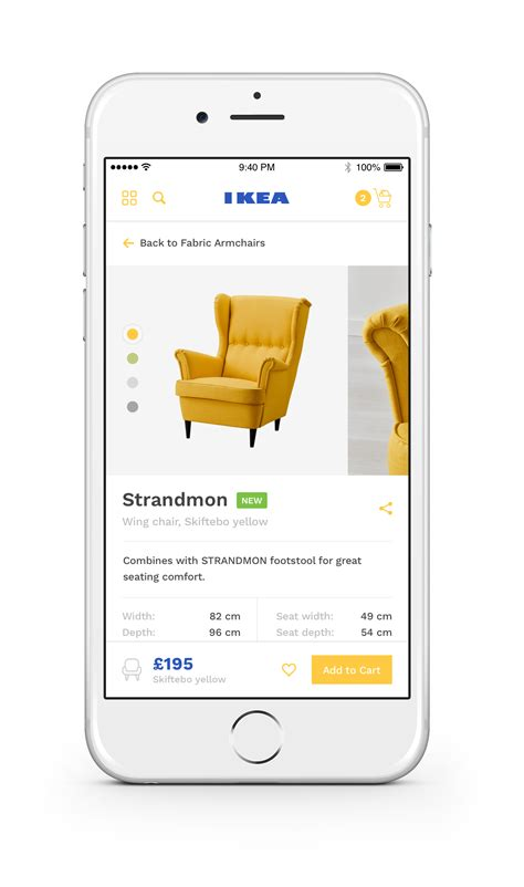 Ikea Ios by Ikea Ios App Product Redesign By Ollie Barker Ui Ux