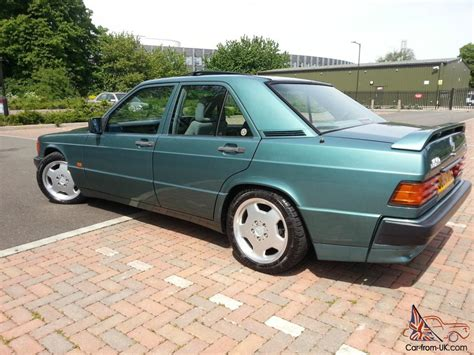 green mercedes 1989 mercedes 190e 2 6 auto green