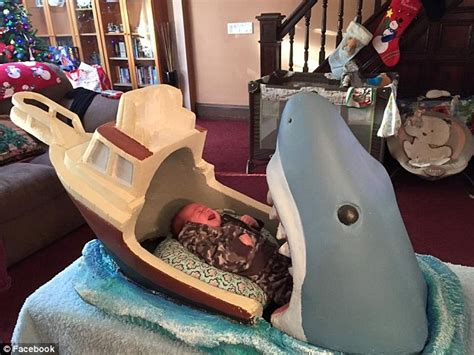 Baby Bedding Explained Designer Builds Jaws Baby Bed Daily Mail