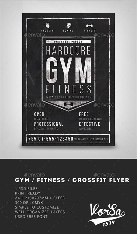 Fitness Gift Card Template - 1000 images about advertising on pinterest flyer template signage and business cards