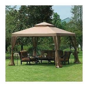 Big Lots Patio Gazebos Garden Winds Big Lots 10 X 10 Window Gazebo Replacement Canopy Product Reviews And Prices