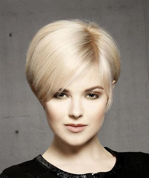 front view of side swept hairstyles pixie hairstyles and haircuts in 2018