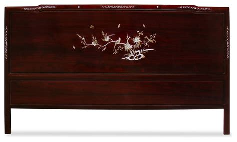 asian headboards china furniture and arts rosewood cal king size mother of