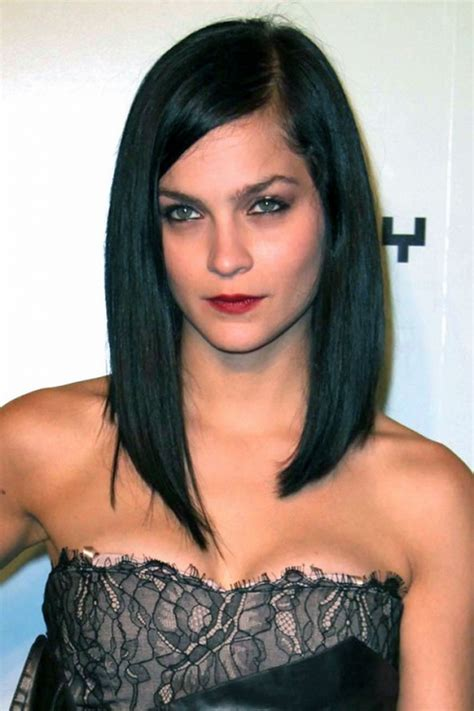 long bobs with dark hair long bob hairstyles to copy this year long bob haircuts