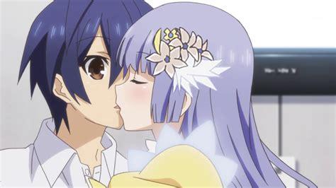 anime date a live kiss image miku kiss png date a live wiki fandom powered