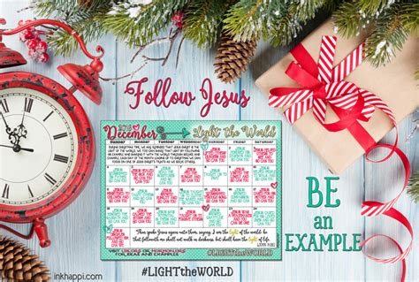 light of the world calendar light the world 25 ways in 25 days tons of free
