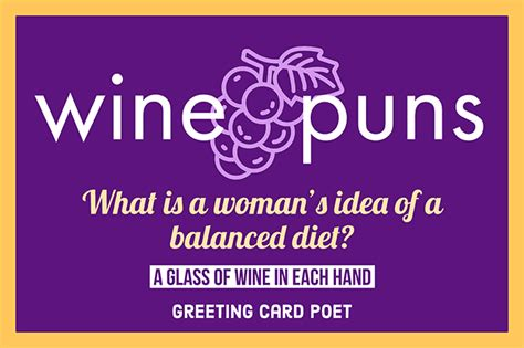 funny wine puns memes images  jokes greeting card poet
