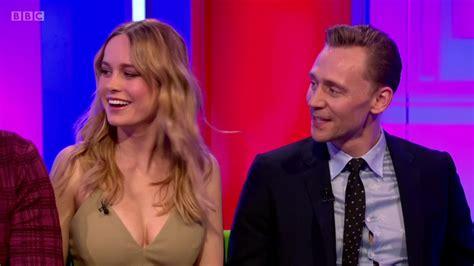 tom jackson tv show the one show tom hiddleston brie larson samuel l