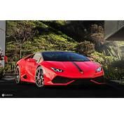 Fonds Decran Lamborghini Devant Rouge Luxe Voitures