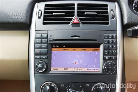 mercedes navigation system comand 2 5 touchscreen integrated satellite navigation