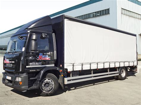 curtain truck maun motors self drive 18t curtain side truck hire day