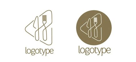 restaurant logo design template free logo design templates