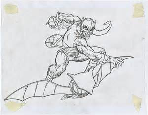 spiderman green goblin free coloring pages art coloring pages