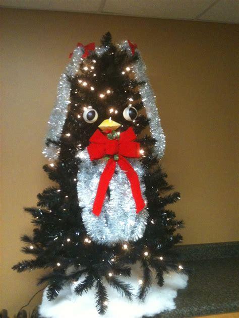 penguin christmas tree for the home pinterest