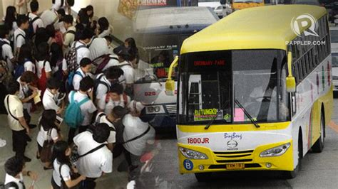 ltfrb expands student fare discount to include weekends holidays summer breaks