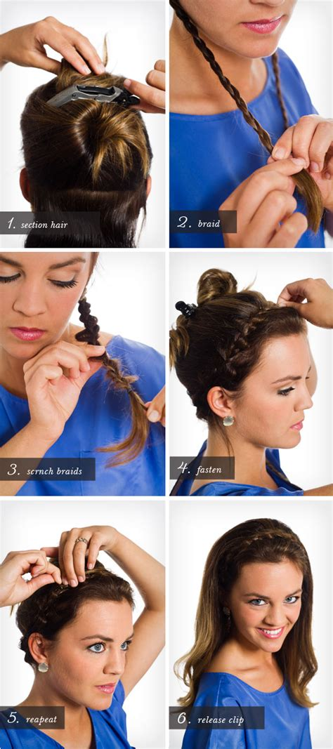 how to do a headband braid step by step pretty simple braided headband camille styles