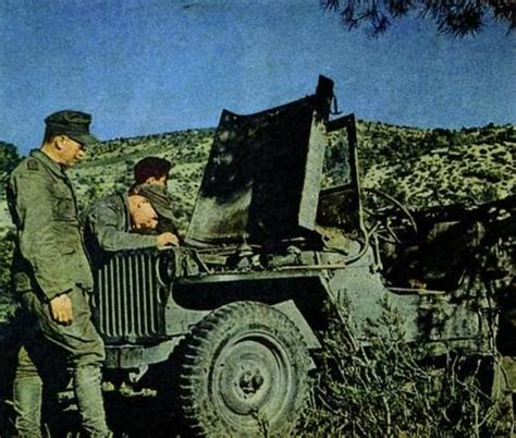 German Jeep German Forces Captured Jeep
