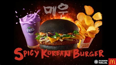 sarang hae spicy korean burger