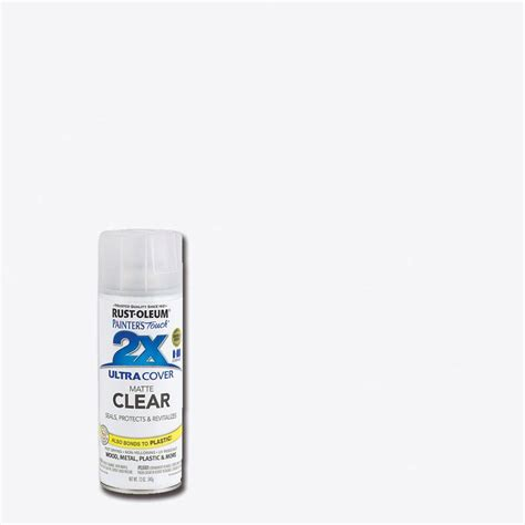 spray paint gloss or flat rust oleum painter s touch 2x 12 oz flat matte clear