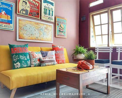 desain gambar vintage 12 desain ruang tamu kecil terbaru 2018 dekor rumah