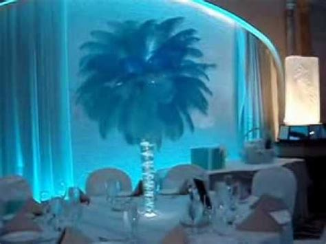 tiffany themed sweet 16 candelabras centerpieces amp sign