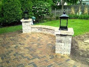 Patio Column Lights Patio Columns With Outdoor Lighting Design Features Photo Gallery Archadeck Of Chicagoland