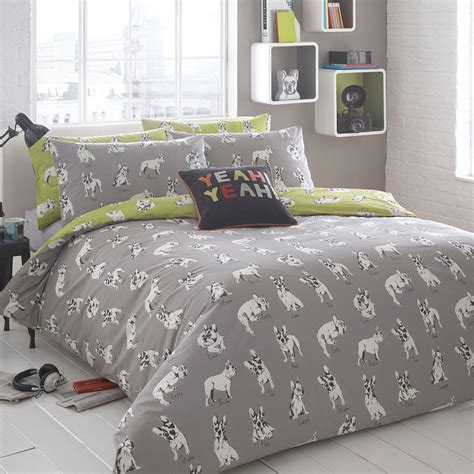 dog bedding set ben de lisi home grey sketchy dog bedding set from