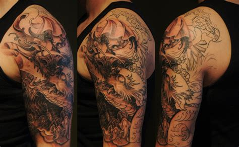 chronic ink tattoo chronic ink tattoos toronto in progress evil