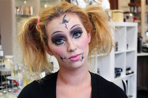 porcelain doll paint use makeup as your costume for