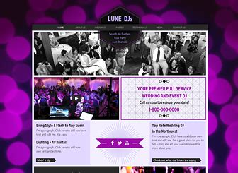 Wedding Dj Brochure Templates by Top 20 Wedding Photography And Event Planning Website