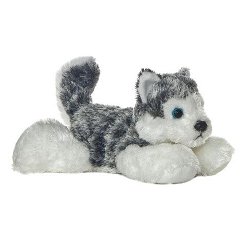 stuffed husky mush the stuffed husky mini flopsie by