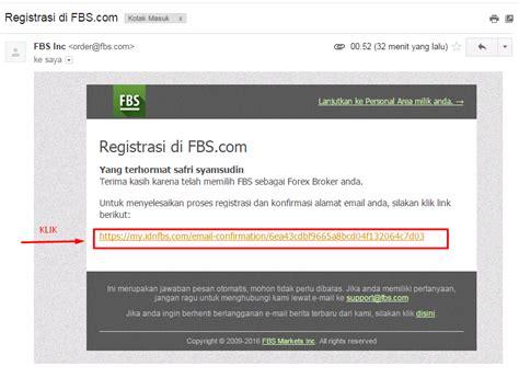 email verifikasi antrian paspor cara daftar di fbs komunitas forex indonesia