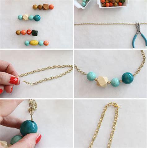 diy beaded jewelry easy diy necklace to jewelry pendants